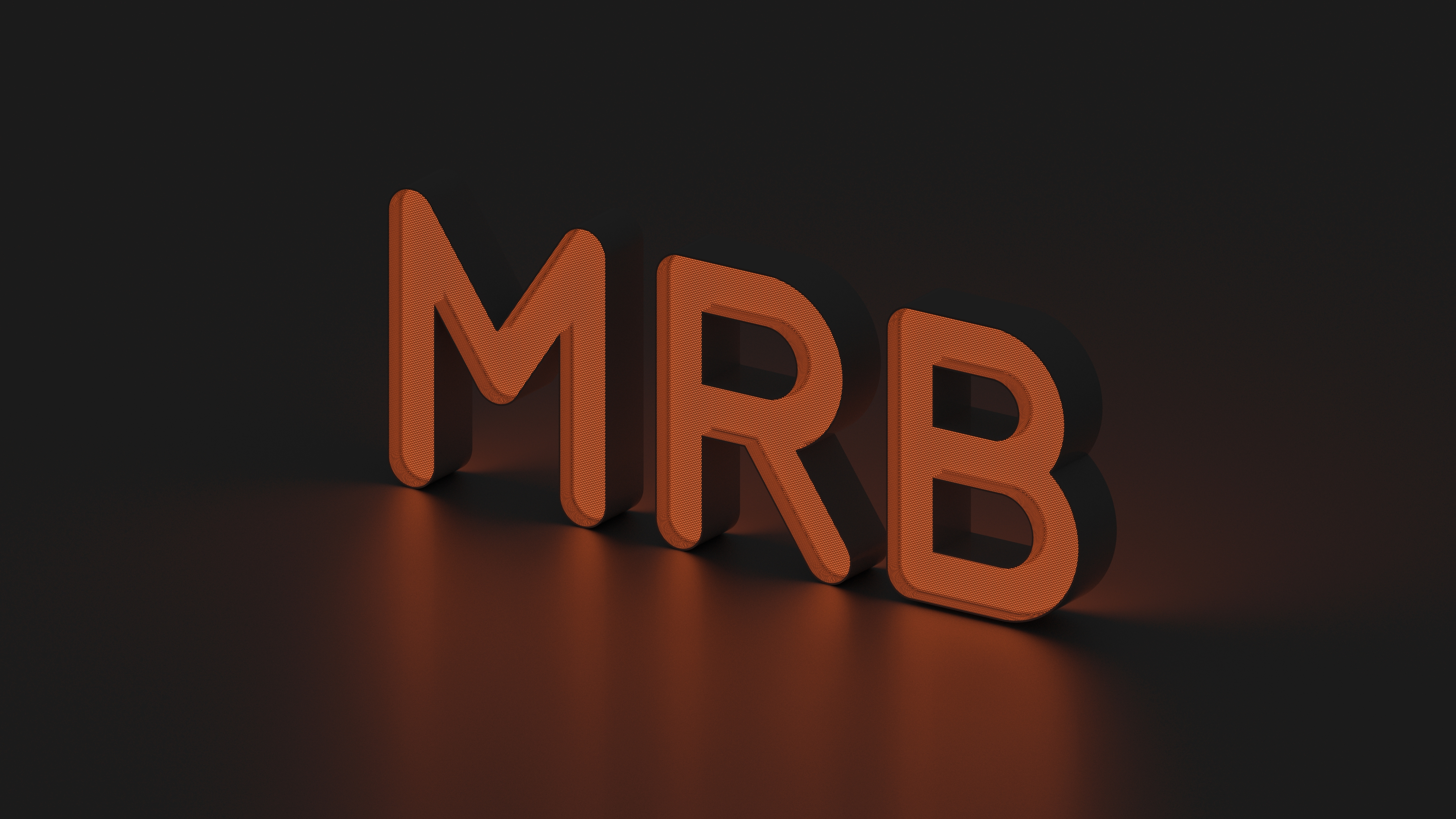 MRB letters night